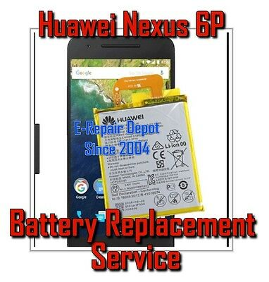 Huawei Google Nexus 6P Battery Repair Replacement Service HB416683ECW