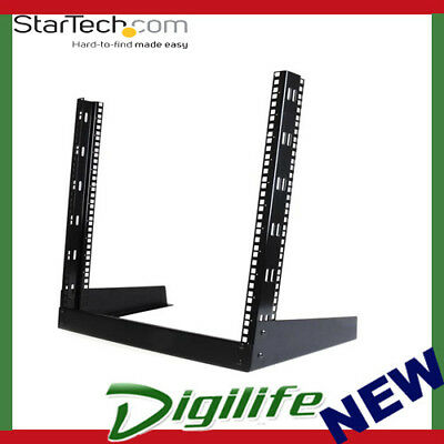 STARTECH 12U 19in Desktop Open Frame 2 Post Rack RK12OD