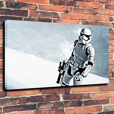 "Home Decor Art Canvas Print Oil Painting Star Wars Stormtrooper Oruzhie 16""x24"""