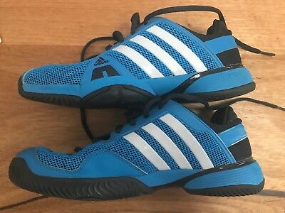 adidas Barricade Adipower 8 All Court Shoe tennis shoes US Size 7 MELB Used