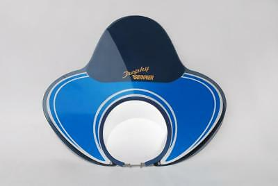 Royale Trophy Winner Flyscreen For Lambretta Tv Sx Special Headsets Reyban Blue