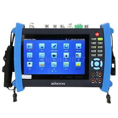 7'' 1080P CCTV IP Camera Tester Touch Screen POE/WIFI/DMM/TDR IPC-8600MOVTS I1Z9