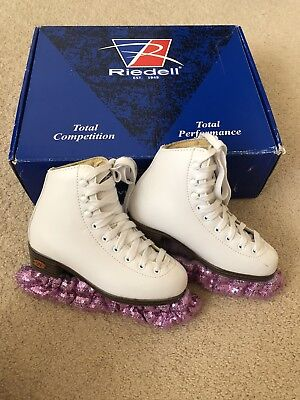 Riedell Model 10 Girls Figure Skate Size 13