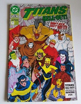 Teen Titans - Sell-Out! Special #1 -  Dc Comics 1992