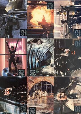 Batman Returns - Chase Complete Card Set (10) - 1992 Topps Stadium - NM