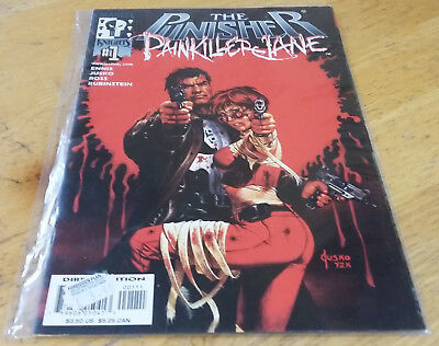 Garth Ennis: Punisher / Painkiller Jane crossover (One-Shot)