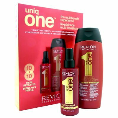 Revlon Uniq One Set Duo Pack 300 ml Shampoo & 150 ml Treatment