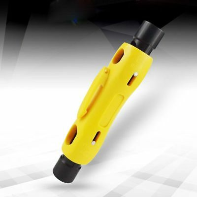 Coaxial For CAT5 CAT6 Coax RG6/RG59/RG7/RG11 Cable Stripper Stripping Tool