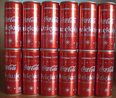 NEW Christmas complet set 12 cans version 250ml