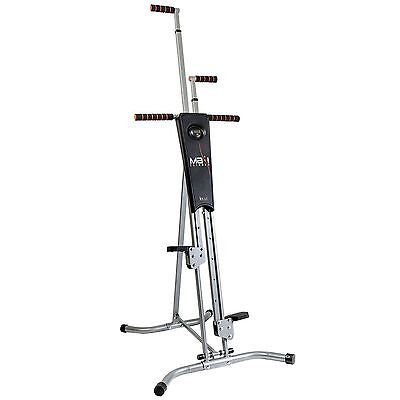 MaxiClimber The Unisex Vertical Climbing Fitness System Stepper Cardio UK1