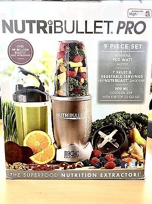 NEW NutriBullet 900 Series Blender Smoothie Maker Mixer Nutrition Extractor 9 Pc