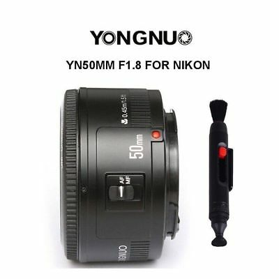 Yongnuo YN50mm F1.8 Large Aperture Auto/Manual AF/MF Focus Prime Lens For Nikon