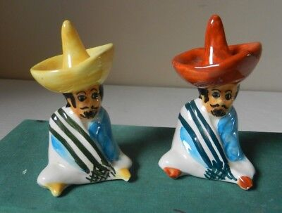 2 small Vintage Babbacombe Mexican Ring Holders