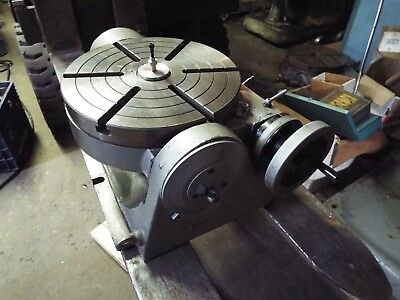 "12"" PRECISION TILTING ROTARY TABLE, Part#TSK-320- lightly used"