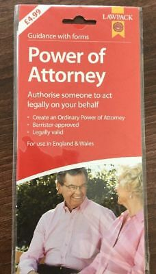 Power Of Attorney Lawpack