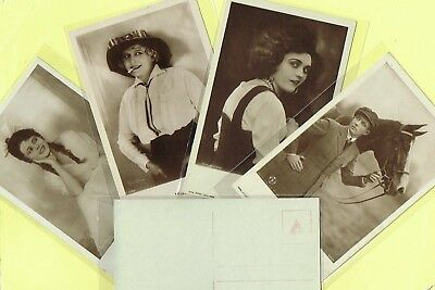 ROSS VERLAG - 1920s Film Star Postcards produced in Germany #403 to #438