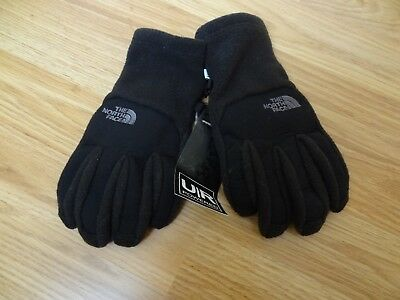 The North Face Youth Denali Etip Gloves Black Size Medium for Child