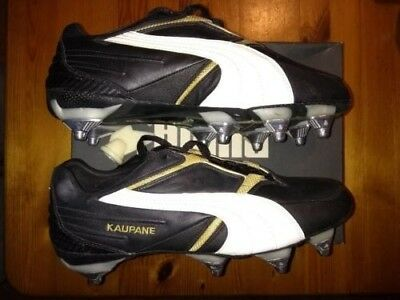 PUMA KAUPANE LOW SOFT TOE RUGBY BOOTS Size 8 1/2 NEW BOXED