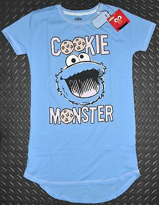283fcfba62850 PRIMARK SESAME STREET Cookie Monster T shirt Pyjamas Pajamas Ladies ...