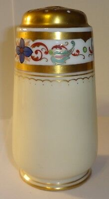 Vintage Porcelain Muffineer Sugar Shaker Hat Pin Holder HC Royal Bavaria