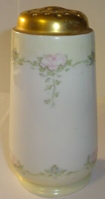 Vintage Porcelain Muffineer Sugar Shaker Hat Pin Holder HC Royal Bavaria ROSES