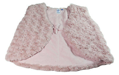 Girls Pink Gilet Lined New Padded Bodywarmer Short Party Jacket Age 6 Years