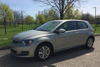 2015 Volkswagen Golf Tsi VW Golf Tsi - Silver, 2015, Leather Seats, Manual Trans