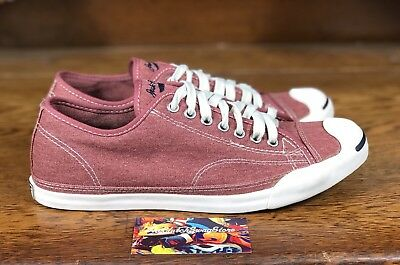 c94e9c91b30960 NEW CONVERSE JACK PURCELL LP OX RED OFF WHITE Casual Shoes 132752C Mens  Size 9.5