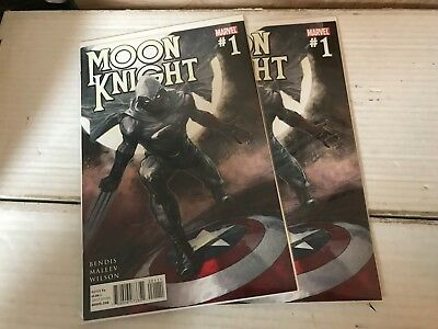 MOON KNIGHT (Marvel 2011) #1 VF/NM Bendis Punisher Daredevil Jessica Jones vol 4
