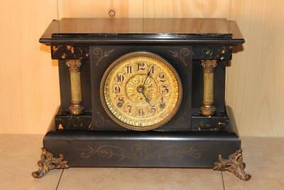 Antique Seth Thomas Adamantine Mantle Clock ~ Rare Apache Model ~ 1908 ~