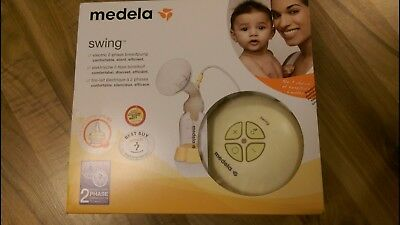 medela swing single electric  breast pump  2 phase calma Complete expressing kit