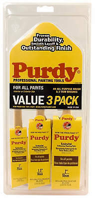 Purdy 140853100 Paint Brush Value Pack, 3-Pc.