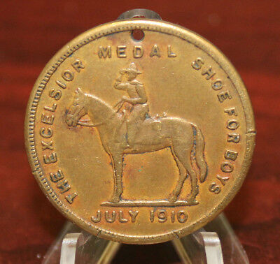 1910 Excelsior Shoes Good Luck Token (1311)