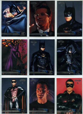 Batman Forever - Complete Card Set (120) 1995 - Fleer ULTRA - NM