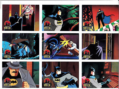 Batman & Robin, Complete Adventures - Complete Card Set (90) 1995 - Near Mint