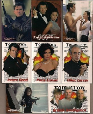 James Bond 007 - Tomorrow Never Dies - Complete Trading Card Set (90) 1997 - NM