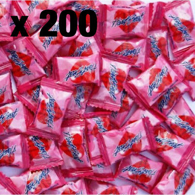 Heartbeat Candy x 200 Pieces   Lolly Candy Love Pink Candies Lollies Heart Beat