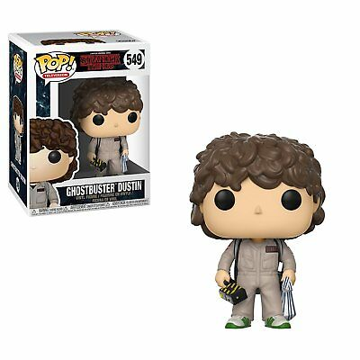 Funko Pop Television: Stranger Things Dustin Ghostbusters 549 21484