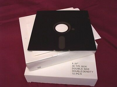 "2 Boxes of  5.25"" Floppy Disks  One New and Sealed"
