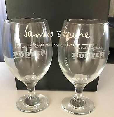 James Squire Porter Glass Set
