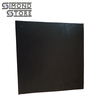 "Neoprene Rubber Sheet Black 1/4"" thick x 12"" x 12"" FREE SHIPPING 55A+/-5"