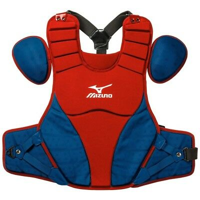 (16.0 inches, Red Navy) - Mizuno Samurai Chest Protector. Shipping is Free
