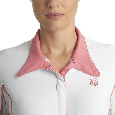 (X-Small, Melon) - Romfh Ladies Competitor LS Show Shirt. Best Price