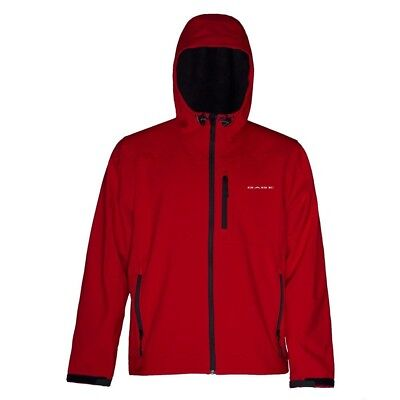 (Large, Red) - Grundens Gauge Midway Softshell Jacket. Free Delivery