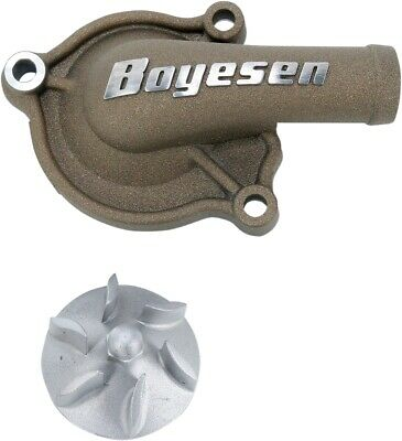 Boyesen Hy-Flow Water Pump Cover And Impeller Kit Magnesium WPK-06AM