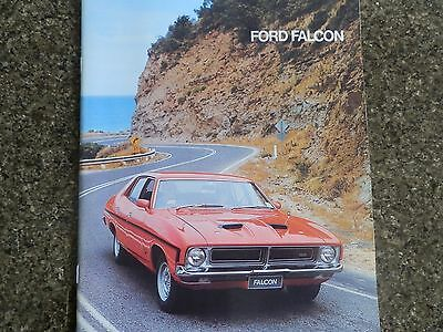 1976 Ford Falcon Xb Brochure.covers All Models Incl Gs,gt, Etc. 100% Guarantee