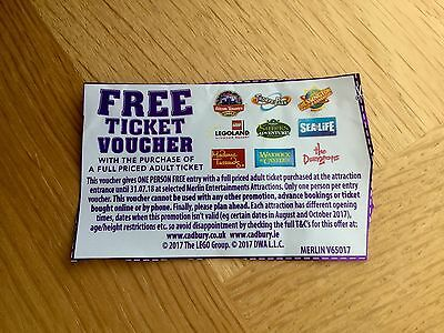 2 for 1 Voucher Legoland,Alton Towers,Thorpe Park,Chessington,Sealife Etc
