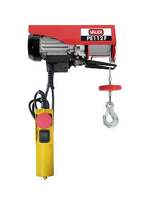 Valex Hoist Electric 50-100Kg Cable Not Revolting 6-12Mt Shop Lifter 200W