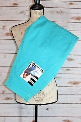 Gitano Size 16 Tall Vintage Relaxed Fit Blue Pants Jeans New With Tags 90s (AX)