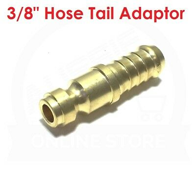 """QUALITY 3/8"""" Hose Tail Brass Adaptor 19.0877 Jamec Pem Airline Fitting Coupling"""